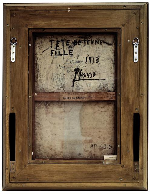 Philippe Gronon, 'Verso n°18, Tête de jeune fille, par Pablo Picasso, Collection Centre Pompidou, Paris', 2007, Modernism Inc.