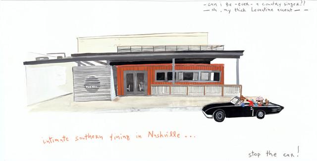 , 'Neo-Nashville,' 2014, Gavlak