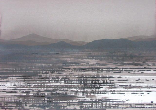 , 'Desert Nocturn,' 2016-2017, Art Atrium