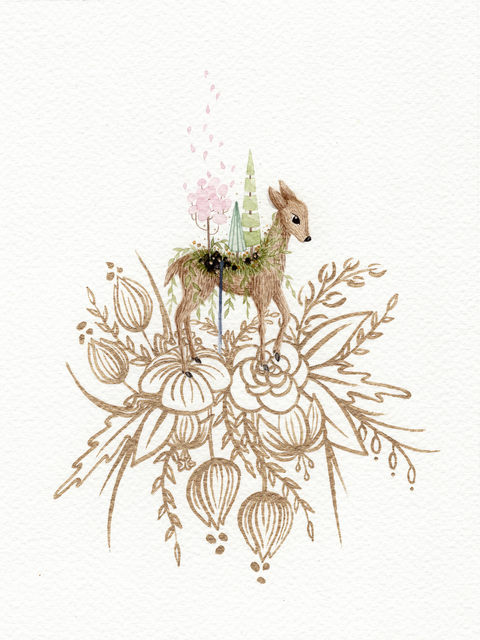 , 'Wherever I Go - Spring,' 2017, Flower Pepper Gallery