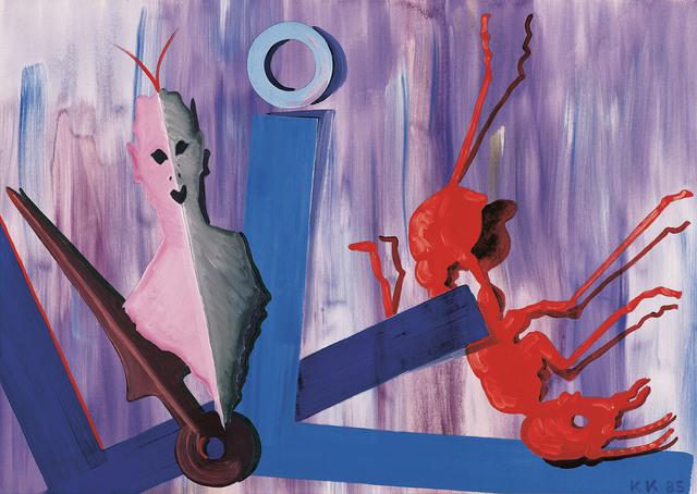 , 'Red Ant,' 1985, Galerie Bei Der Albertina Zetter