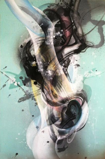 , 'Communicaions (Blue),' 2014, Susan Eley Fine Art