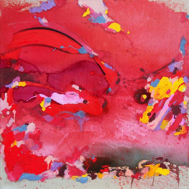 Yassine Mekhnache, 'SANS TITRE', 2017, Painting, Mixed media on canvas, David Bloch Gallery