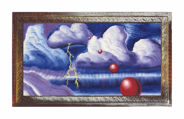 Kenny Scharf, 'Stormy Weather', Christie's