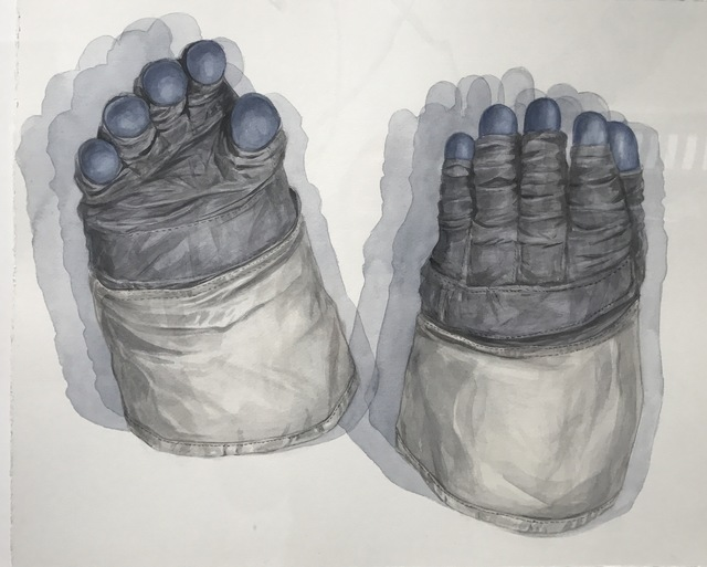 Thomas Broadbent, 'Moon Gloves (Apollo 11)', 2018, Front Room Gallery