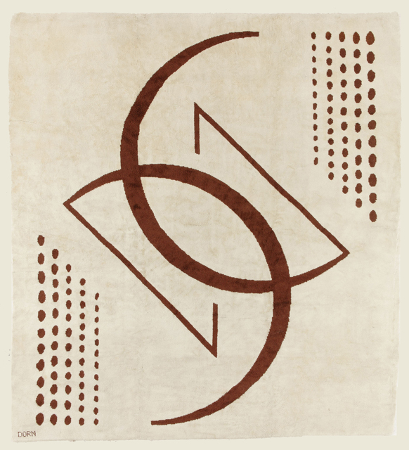 , 'Carpet,' ca. 1930, Galerie Anne-Sophie Duval