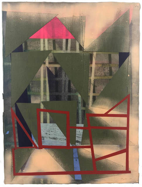 , 'Vibration No. 11,' 2019, The Painting Center