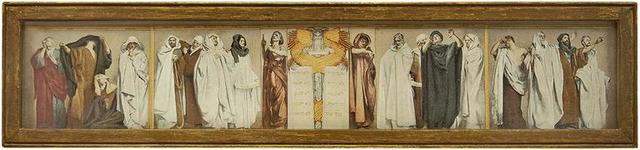 "John Singer Sargent, 'Study for ""Frieze of Prophets"" Vintage Print', 19th Century, Lions Gallery"