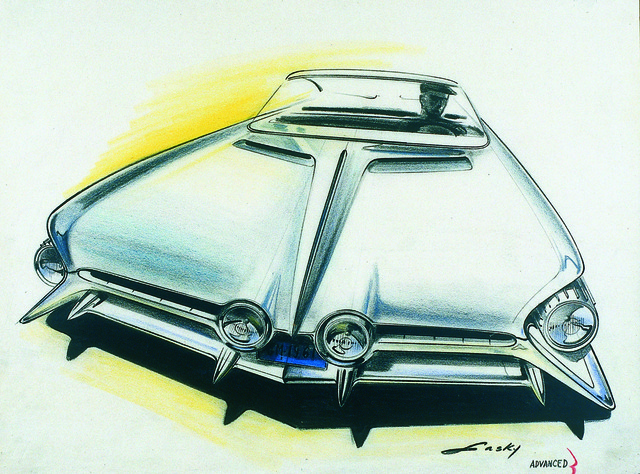 , 'Pontiac Front End Proposal: Model Year ,' 1961, Norton Museum of Art