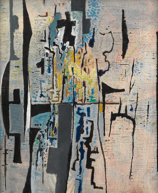 Caziel, 'Composition X/1965', 1965, Painting, Oil on canvas, Whitford Fine Art