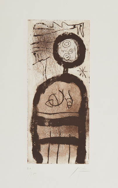Joan Miró, 'La Creole (The Creole)', 1958, Phillips