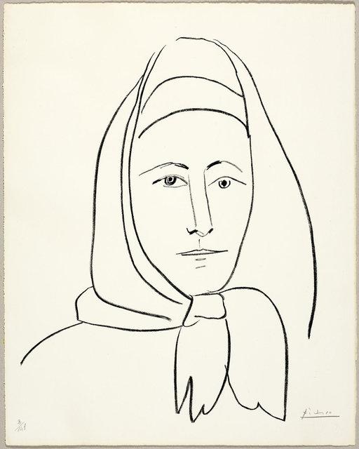 Pablo Picasso, 'L 'Espagnole', 1960, Koller Auctions