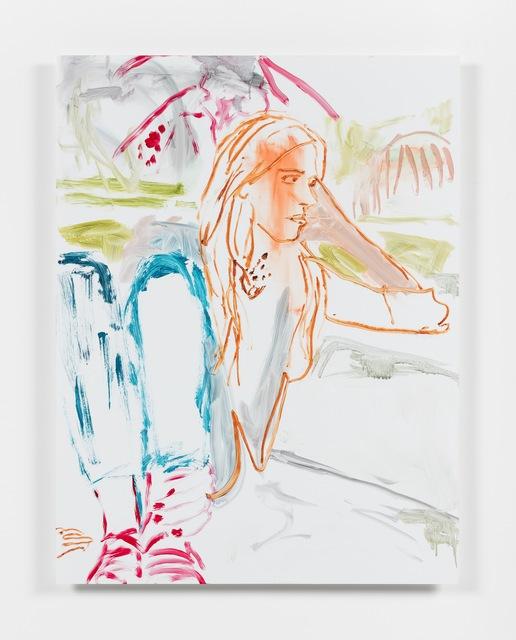 , 'Advisors (detail of 14 paintings),' 2016, Campoli Presti