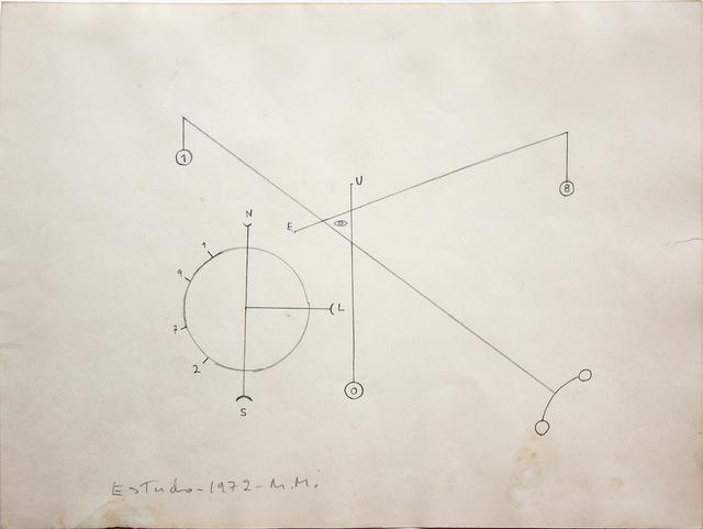 , 'Esquema,' 1972, Galeria Pilar