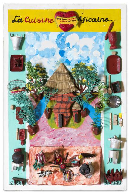 , 'La cuisine Aficaine,' 2015, Africa Bomoko