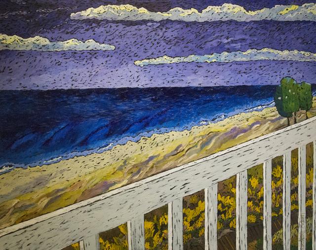 , 'Purple Sky,' 2017, Eastend Studio and Gallery
