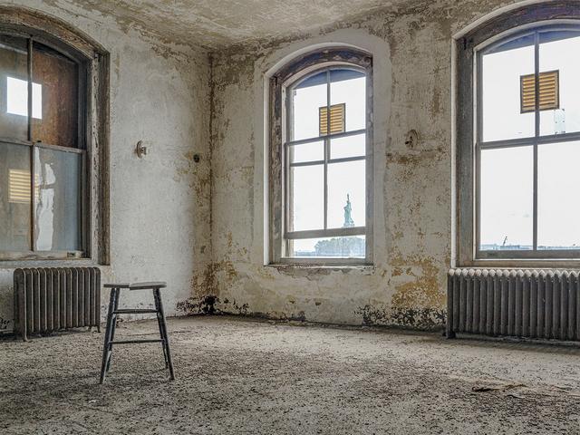 , 'Isolation Ward, Ellis Island Hospital,' 2017, Soho Photo Gallery