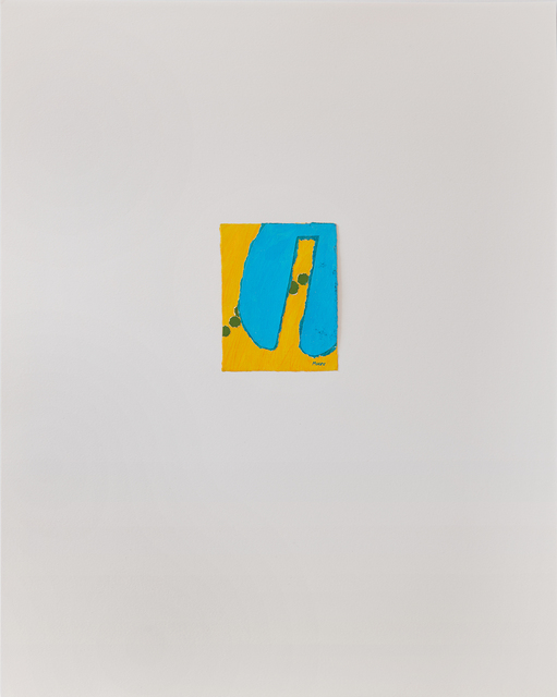 , 'Untitled III (Yellow Blue),' ca. 1978, Susan Eley Fine Art