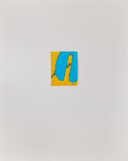 , 'Untitled III (yellow blue),' ca. 1978, Susan Eley Fine Art