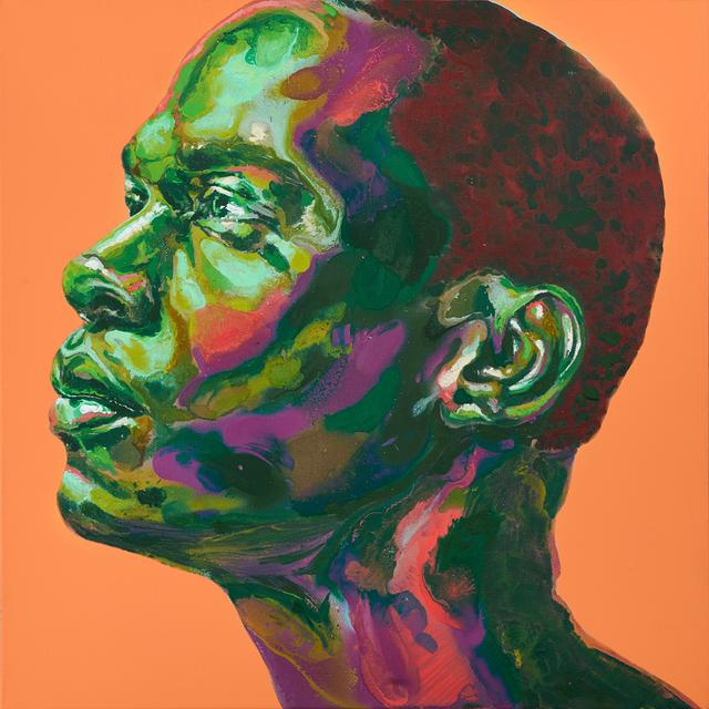 David Walker, 'Jesse (Orange)', 2018, Black Book Gallery