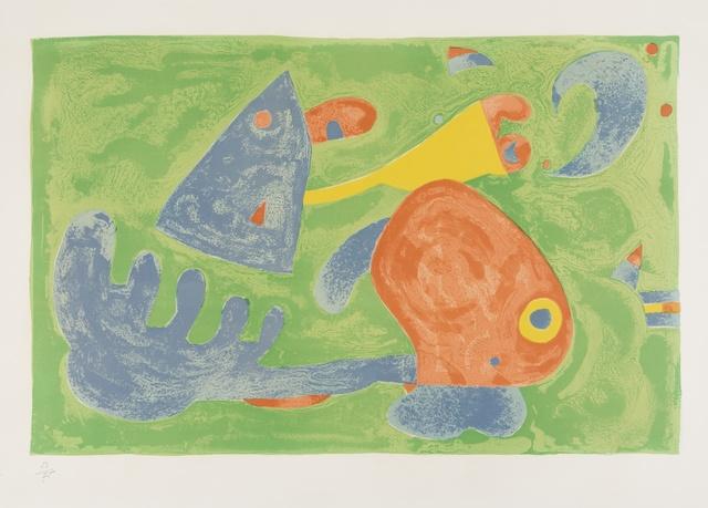 Joan Miró, 'Le Sommeil du Père Ubu II' (Mourlot 426)', 1966, Forum Auctions