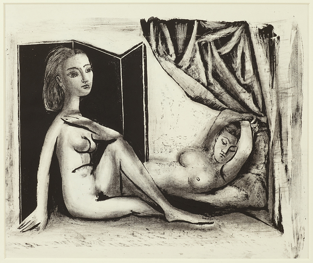 , 'Les deux Femmex nues State 7b (5th January 1946),' 1946, Alan Cristea Gallery