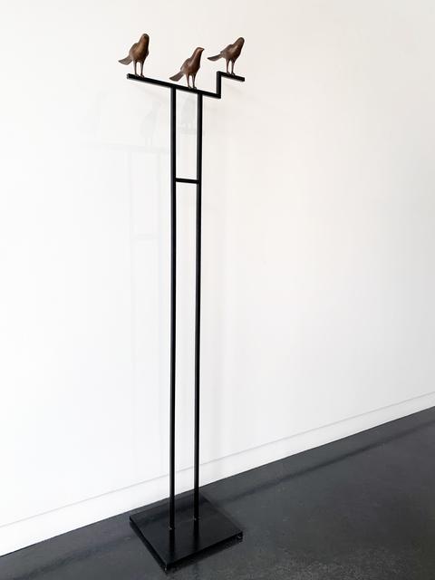 Gwynn Murrill, 'Three Birds', 2020, Sculpture, Bronze / Steel, Gail Severn Gallery