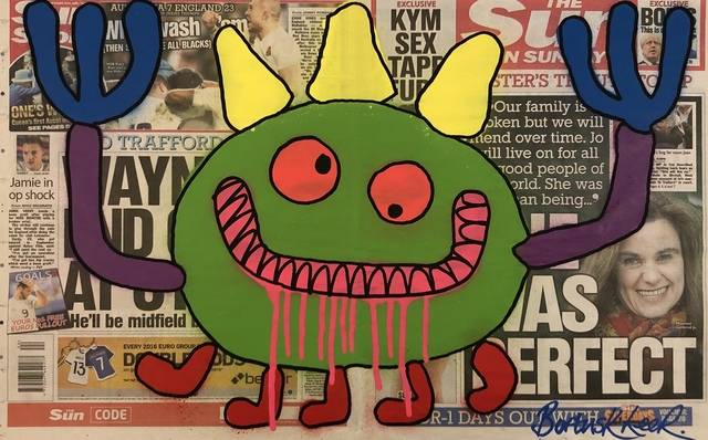 , 'I Didn't Do Nuffin' - Double Tabloid,' 2014-2106, Vintage Deluxe