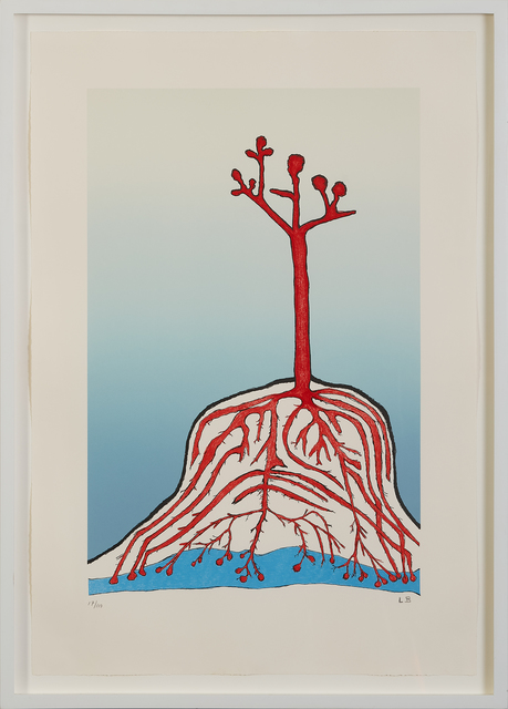 Louise Bourgeois, 'The Ainu Tree', 1999, Marlborough Graphics