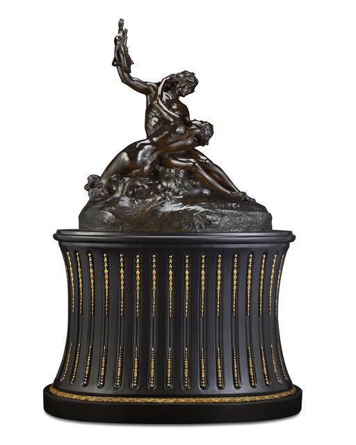 Émmanuel Hannaux, 'Le Poète et la Sirène (The Poet and the Siren)', 1816-1918, Sculpture, Bronze,  M.S. Rau