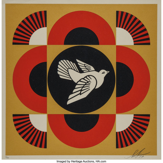 Shepard Fairey, 'Dove Geometric Set (three works)', 2017, Heritage Auctions