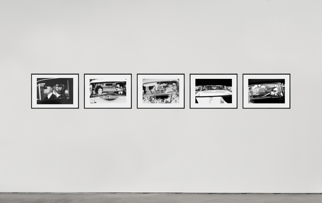 David Goldblatt, 'While in traffic', 1967, Photography, Vintage silver gelatin prints, Set of five photographs, Goodman Gallery