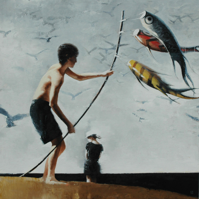 , 'Kite Flying,' , Quidley & Company
