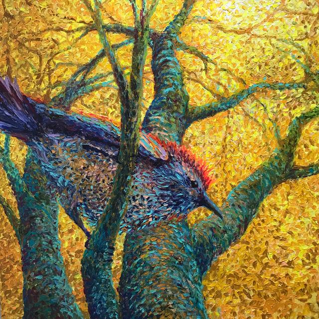 , 'Crested King Jay,' 2015, Adelman Fine Art