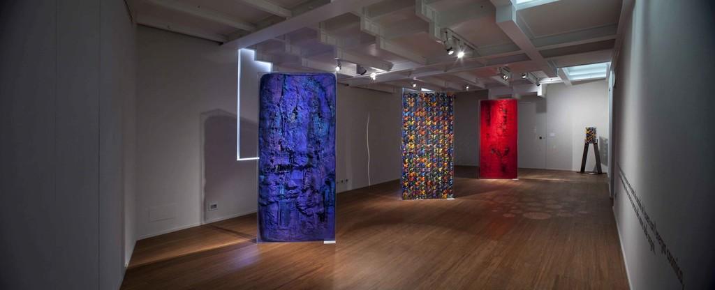 Antonio Borghese's ABC-ARTE  Contemporary Art Gallery was pleased to disclose its new expositive space with the solo show:  Marcello Lo Giudice / EARTH ARTIST.  www.abc-arte.com
