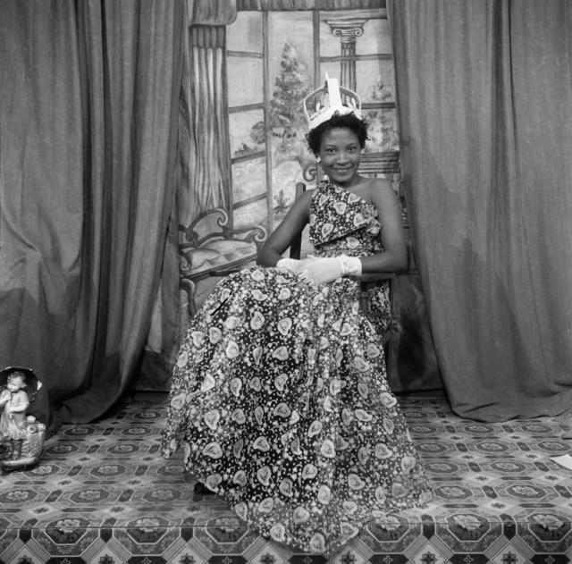 , 'Naa Jacobson as Ballroom Queen, Ever Young studio, Accra, c. 1955 ,' 2019, Galerie Clémentine de la Féronnière