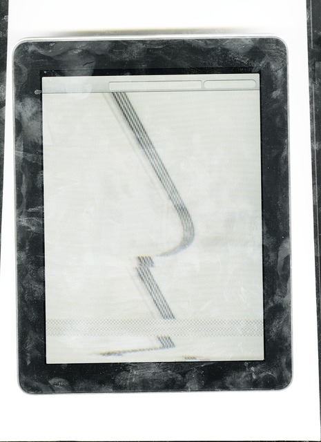 , 'Pad Scan (retouch),' 2013, VARIOUS SMALL FIRES