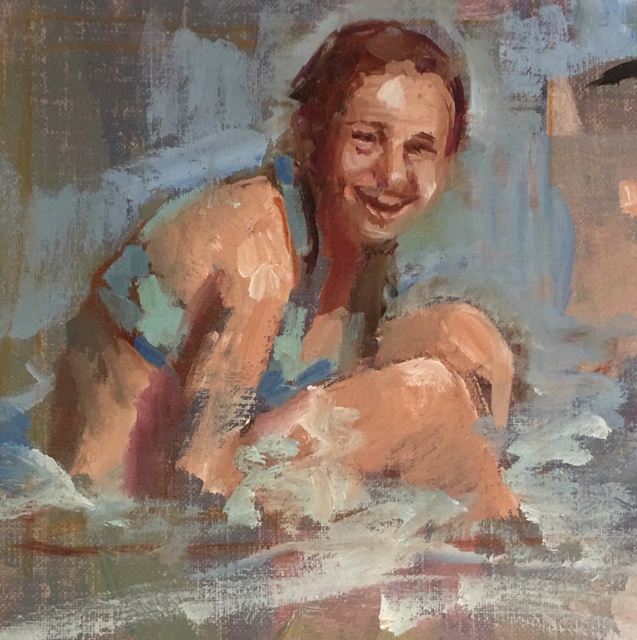, 'Figure in Surf,' ca. 2018, Gildea Gallery
