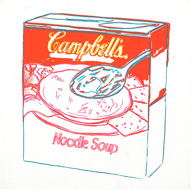 Andy Warhol, 'Campbell's Soup Box: Noodle Soup', 1986, Rosenfeld Gallery LLC