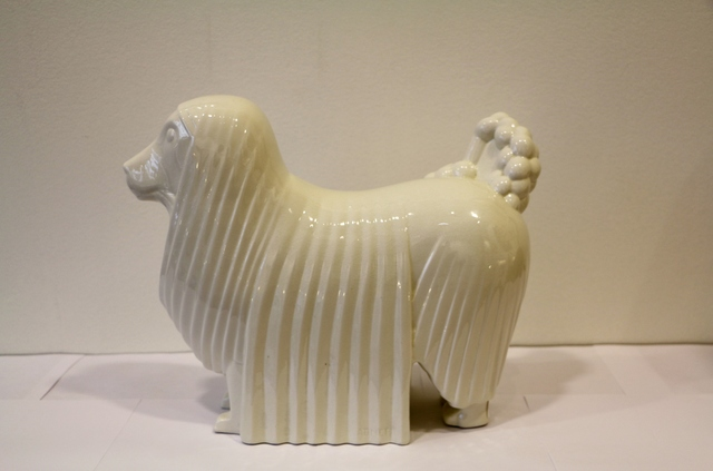 , 'Ceramic Poodle, by Jacques Adnet,' ca. 1930, Avant-Garde Gallery