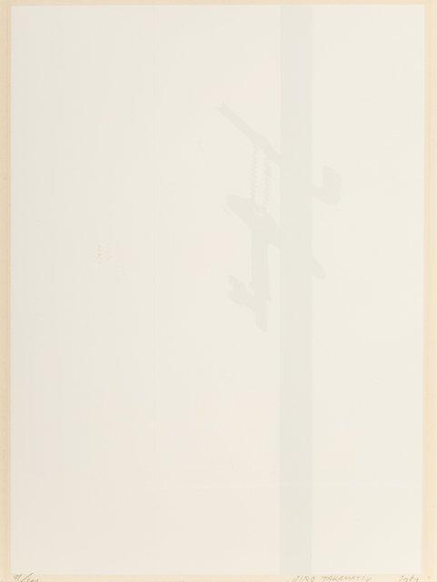 Jiro Takamatsu, 'Shadow Key', 1969, Print, Intaglio on paper, Heritage Auctions