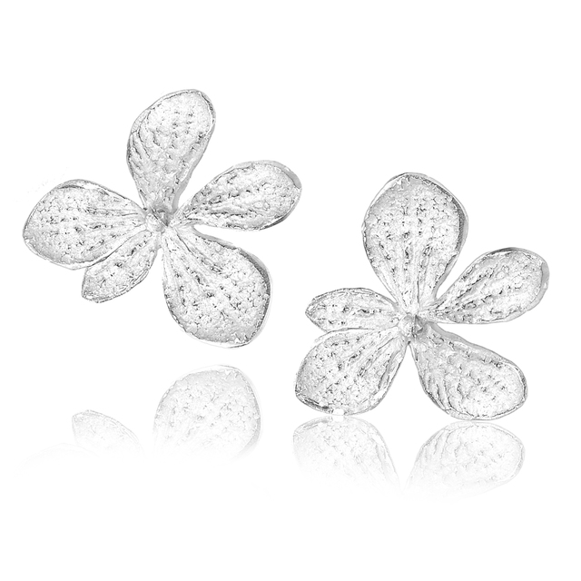 , 'Sterling Silver Single Hydrangea Earrings ,' 2017, Szor Collections