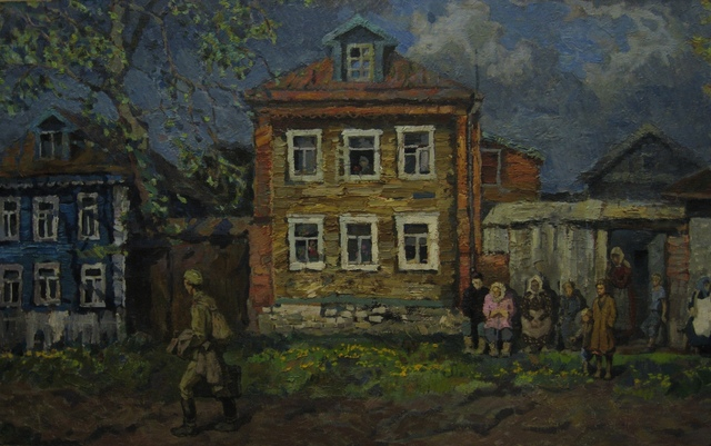 Vladimir Frolovich Stroev, 'Spring of 1945', 1985, Surikov Foundation