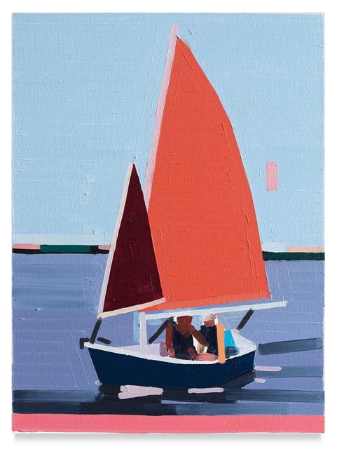 , 'Sailboat,' 2019, Miles McEnery Gallery