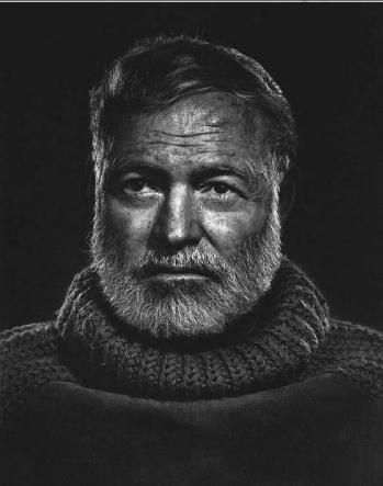 , 'Ernest Hemingway,' 1957, Weston Gallery