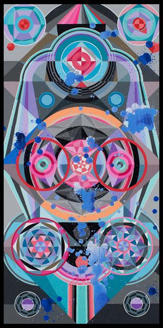 , 'Blue Shifting,' 2017, MARS