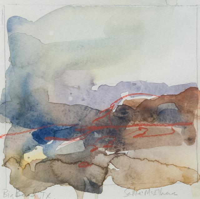 , 'Big Bend Landscape,' 2015, Fort Worth Contemporary Arts