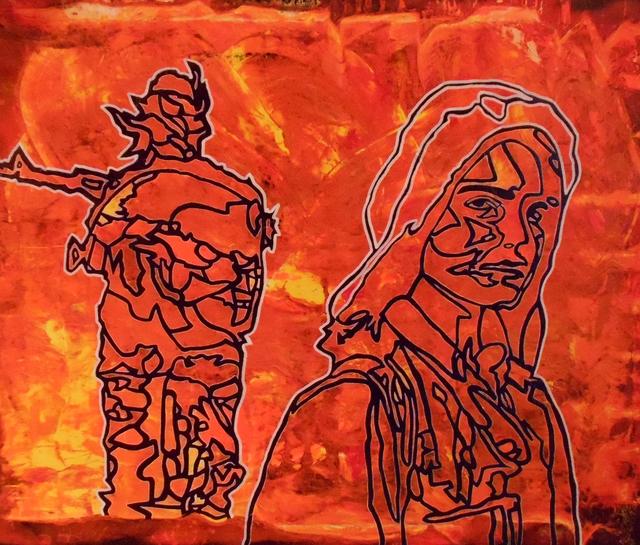 , 'Women Against Terrorism,' 2017, Agora Gallery