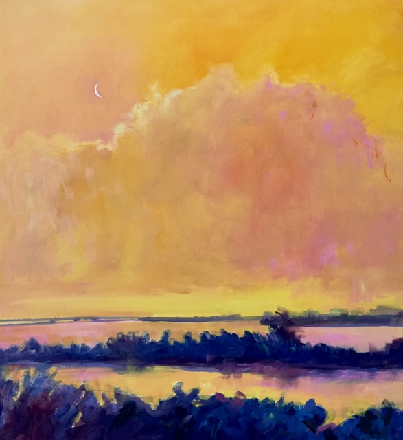, 'Tangerine Sky II,' 2016, 530 Burns Gallery