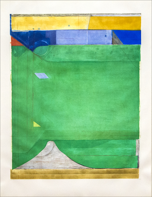 , 'Green,' 1986, Heather James Fine Art